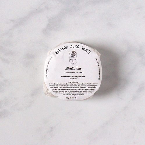 Nordic Tree Shampoo Bar - Oily Hair