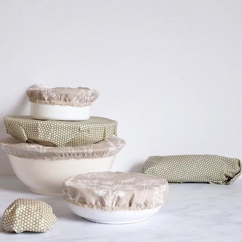 Plastic Free Kitchen Gift Set - Olive Green