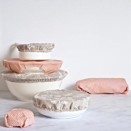 plastic free kitchen gift set - pink