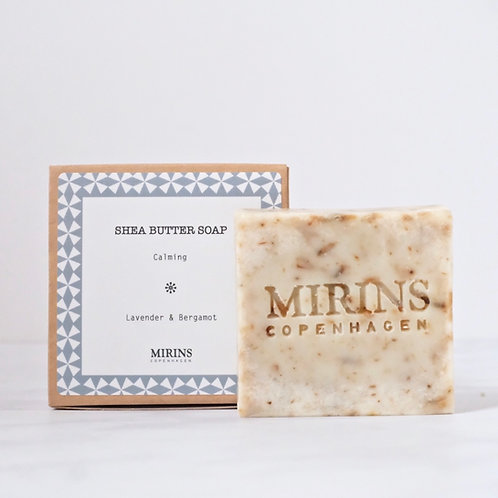 Shea Butter Soap - CALMING - Lavender & Bergamot