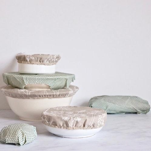plastic free kitchen gift set - aquamarine
