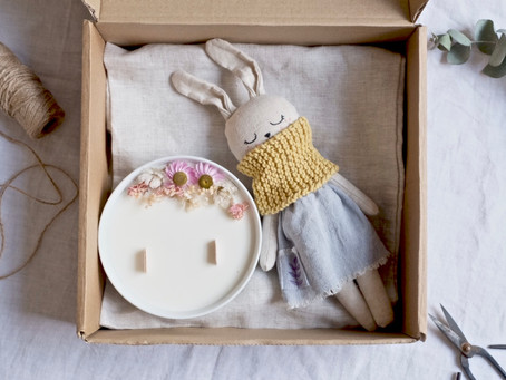 Eco-friendly baby shower gift