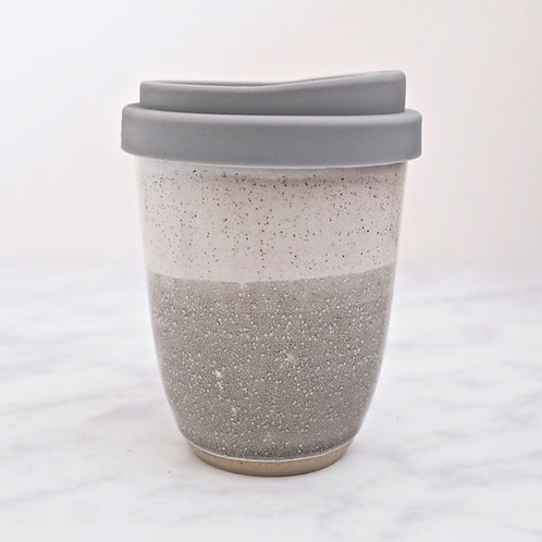 ceramic travel mug - misty morning