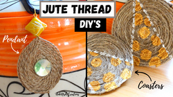 Jute Thread DIY'S