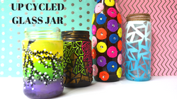 Glass jar decors