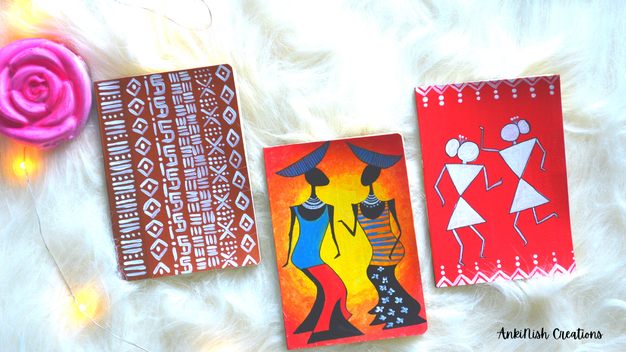 Tribal Art Notebook Covers