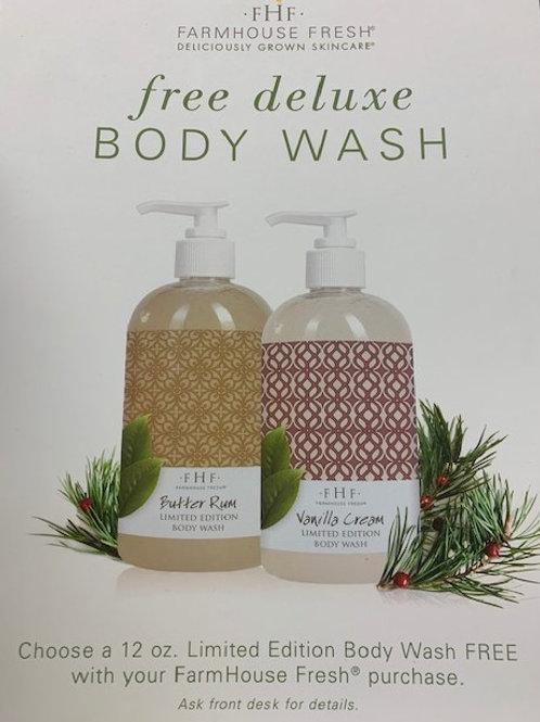 FHF Limited Edition Body Wash