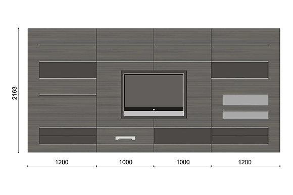 MDF Пристенная композиция Elevenfive схема