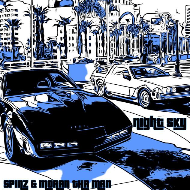 Spinz & Moran The Man - Night Sky [EP]