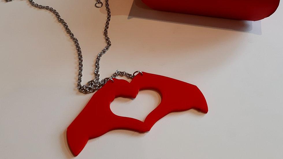 Collana San Valentino Mani  Cuore