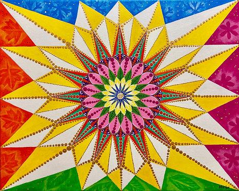 The Four Seasons (Mandala)