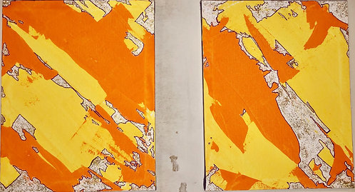 Bright & Shiny L1 & R1 (Diptych)