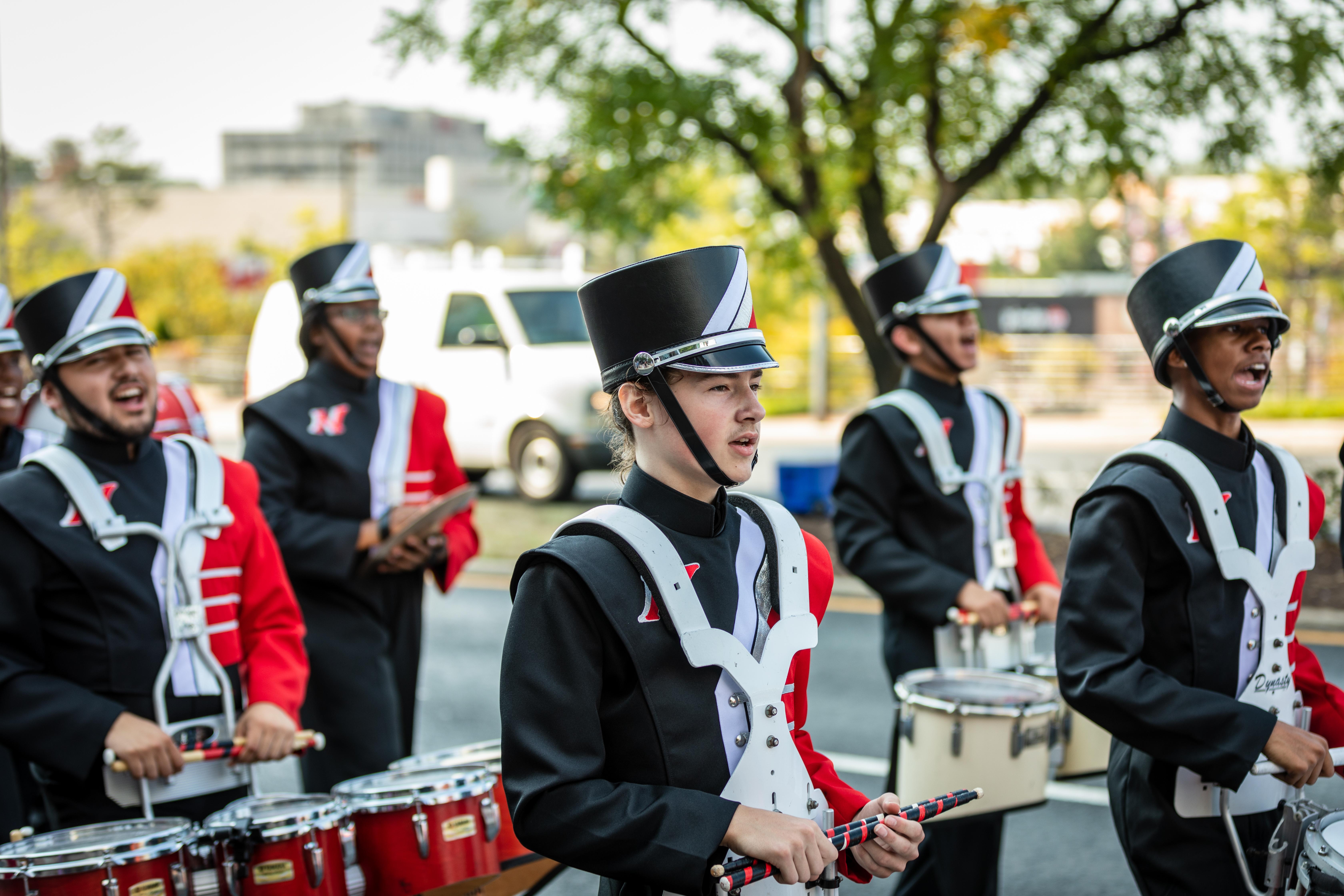 Northwood High School Drum Line