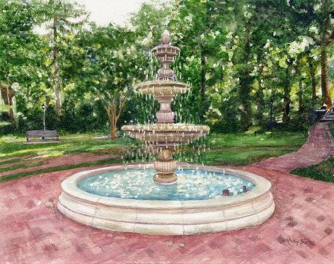 Flinn Park Fountain, Kensington