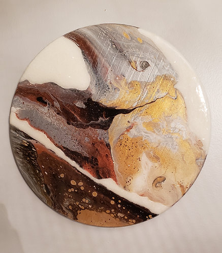 Molten Metallics I (Wall Art)