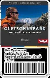 Gletscherparkcard