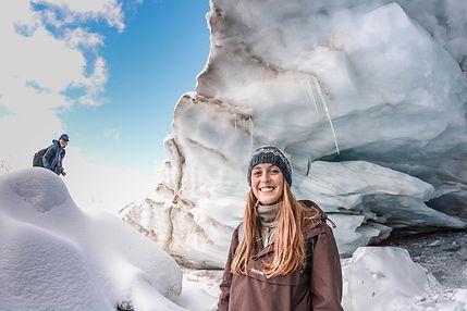 Pitztaler Gletscher Sommer im Eis