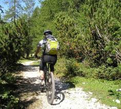 Mountainbike im Pitztal