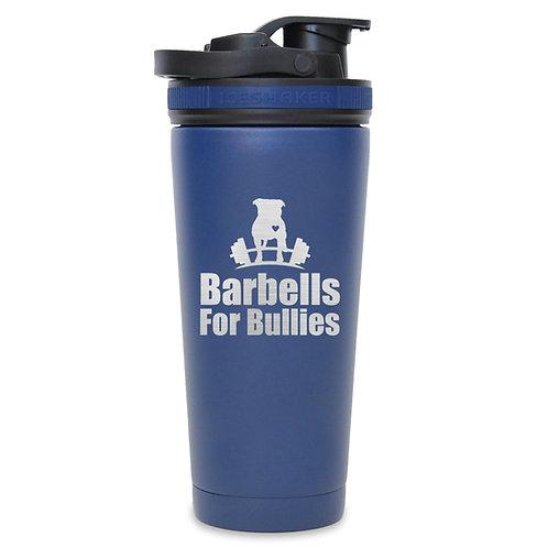 26 Oz Barbells For Bullies Ice Shaker