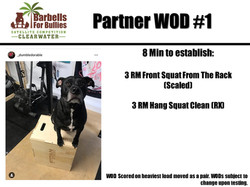 WOD 1 Clearwater