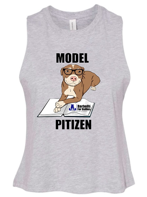 Model Pitizen Ladies Crop tank