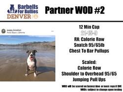 Partner WOD 2 Denver