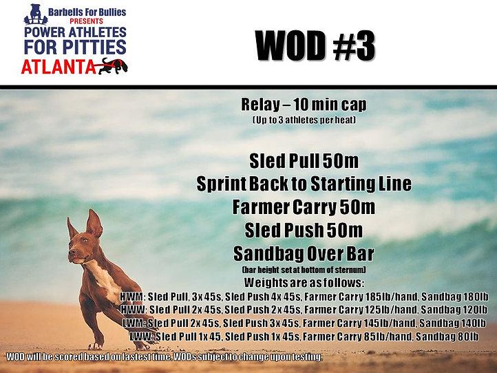 WOD #3 - Power Athletes, ATL