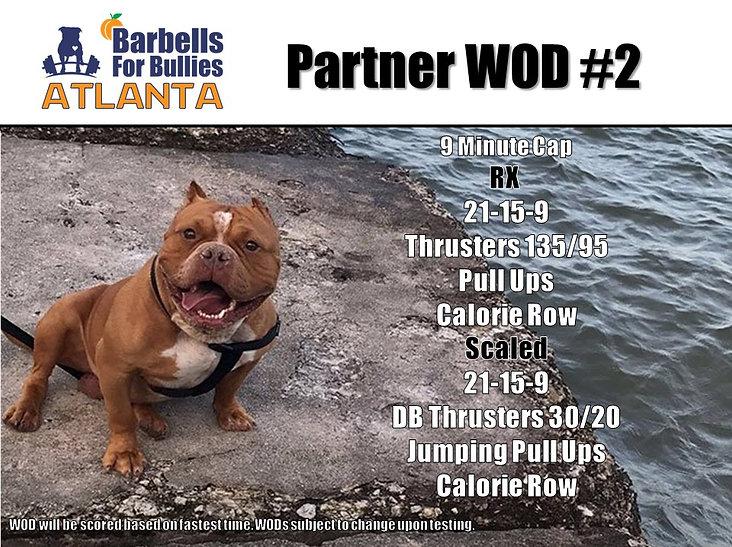 Atlanta 2018 Partner WOD 2