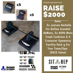 Sit Rep - Team Incentive $2000 2021