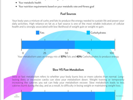 Resting Metabolic Rate Report