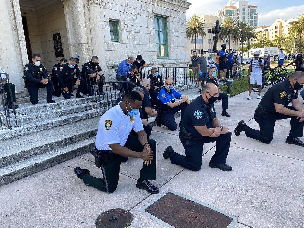 Police knees
