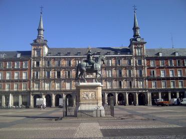plaza mayor with philip iii on horse.jpg