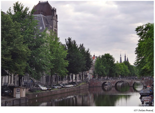 Bridge over an Amsterdam canal