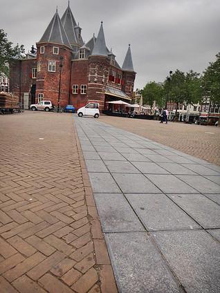 New market in Amsterdam