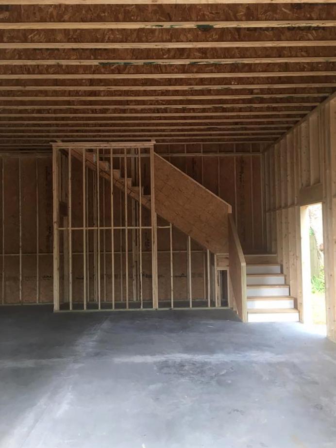 Deatched Garage Construction