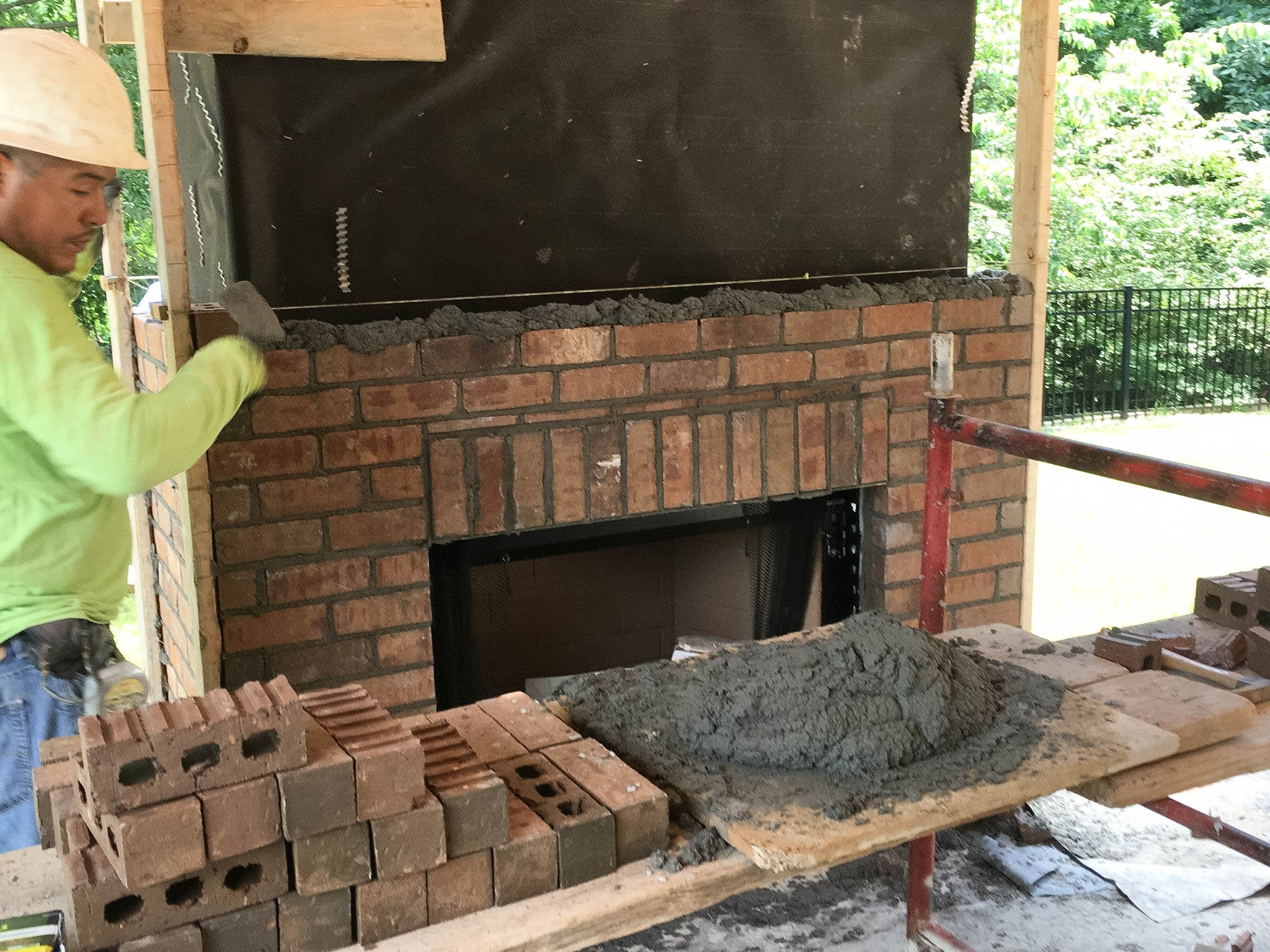 Brookleigh Progress - Fireplace