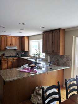 Fairfield Trace Kitchen Before