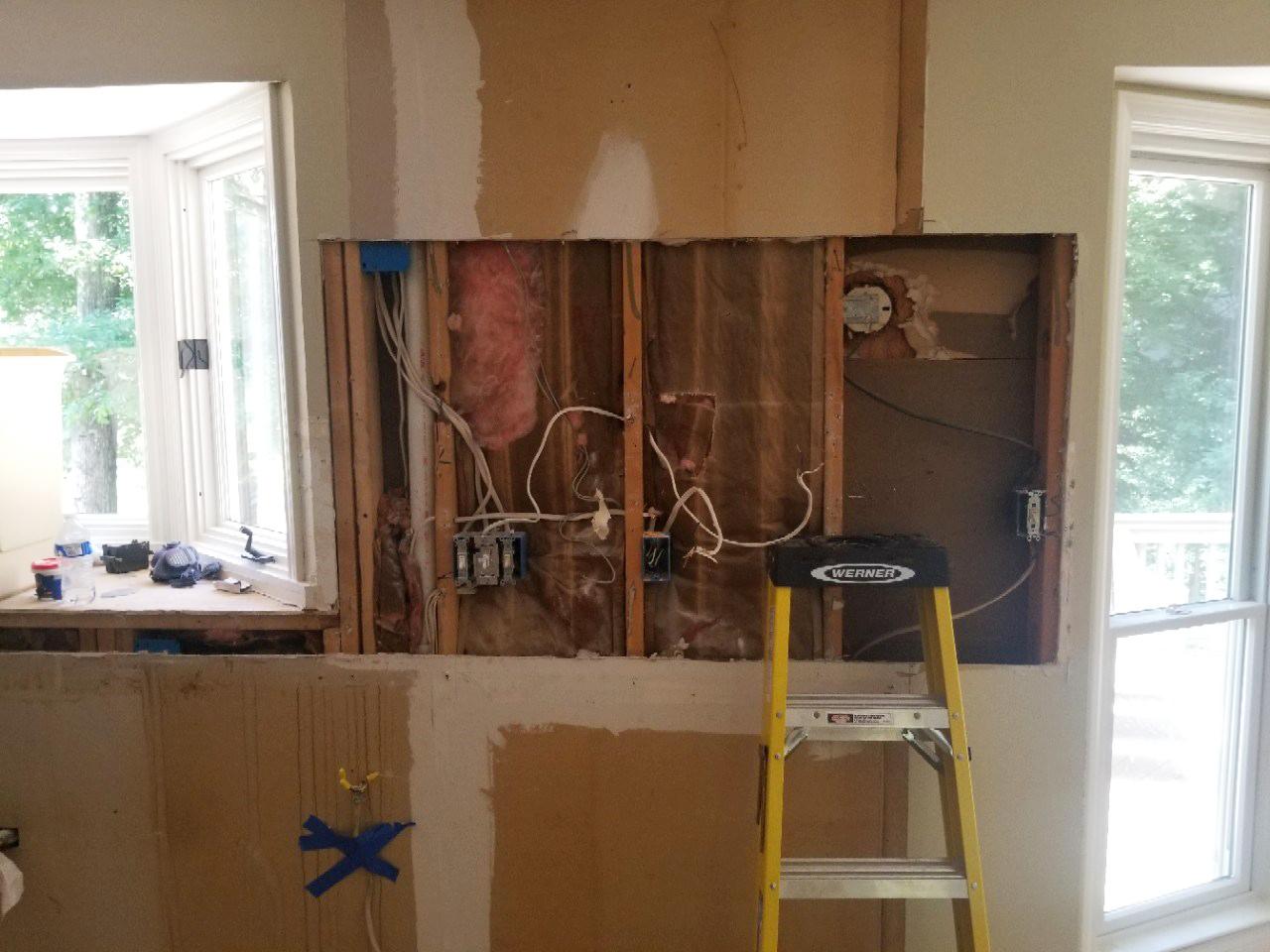 Fairfield Trace Kitchen Progress