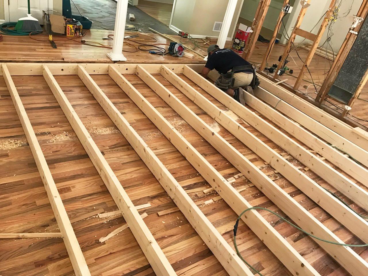 Fairfield Trace Living Room Progress