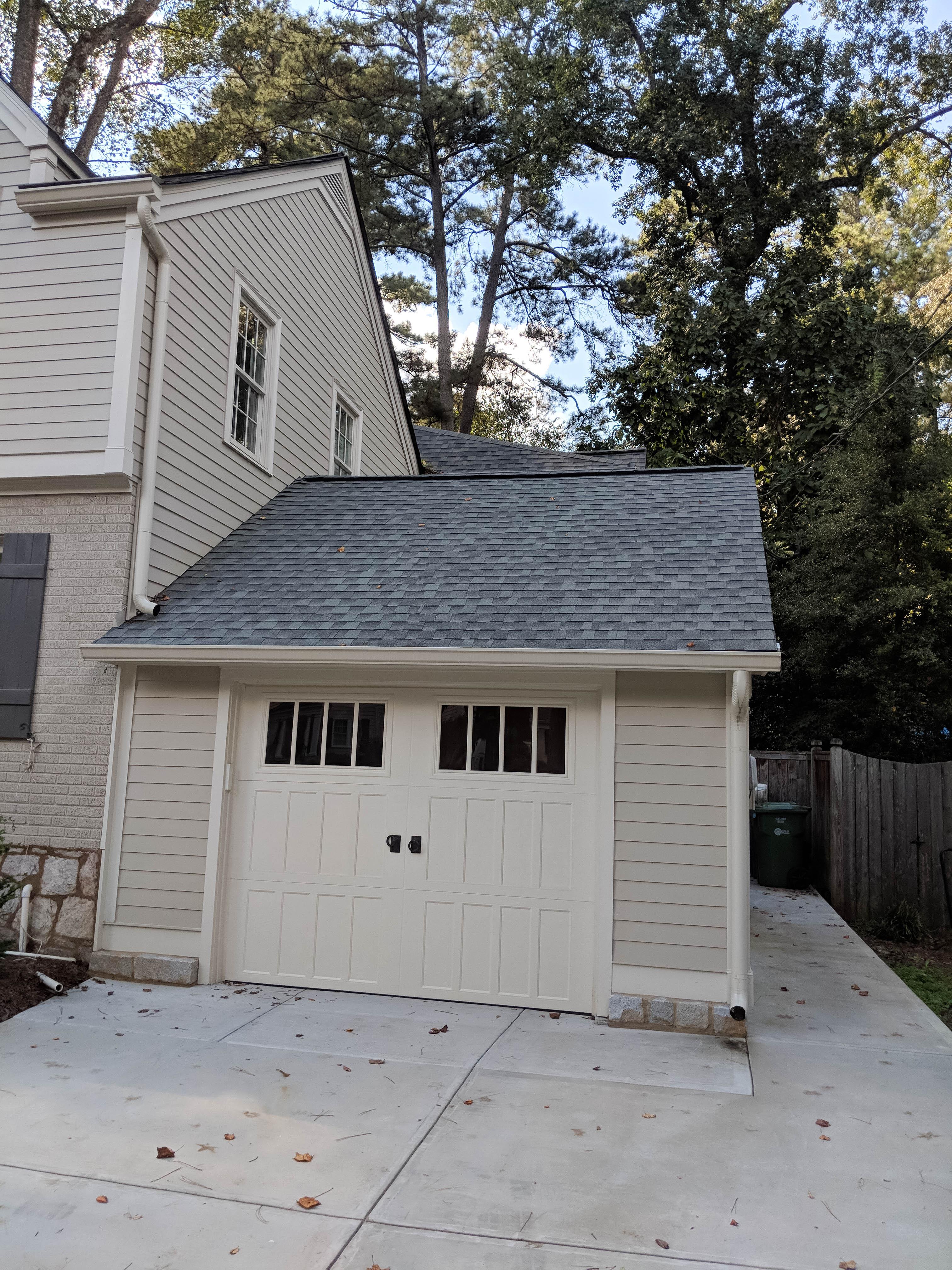 N. Ivy Rd. Ext Facelift - After Garage
