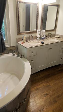Jody Lane Before Sinks