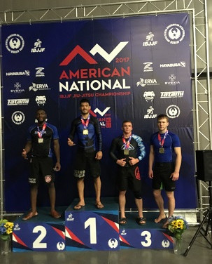 2017 IBJJF American National Champion