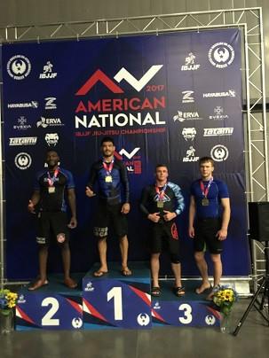 2017 IBJJF American National Champion