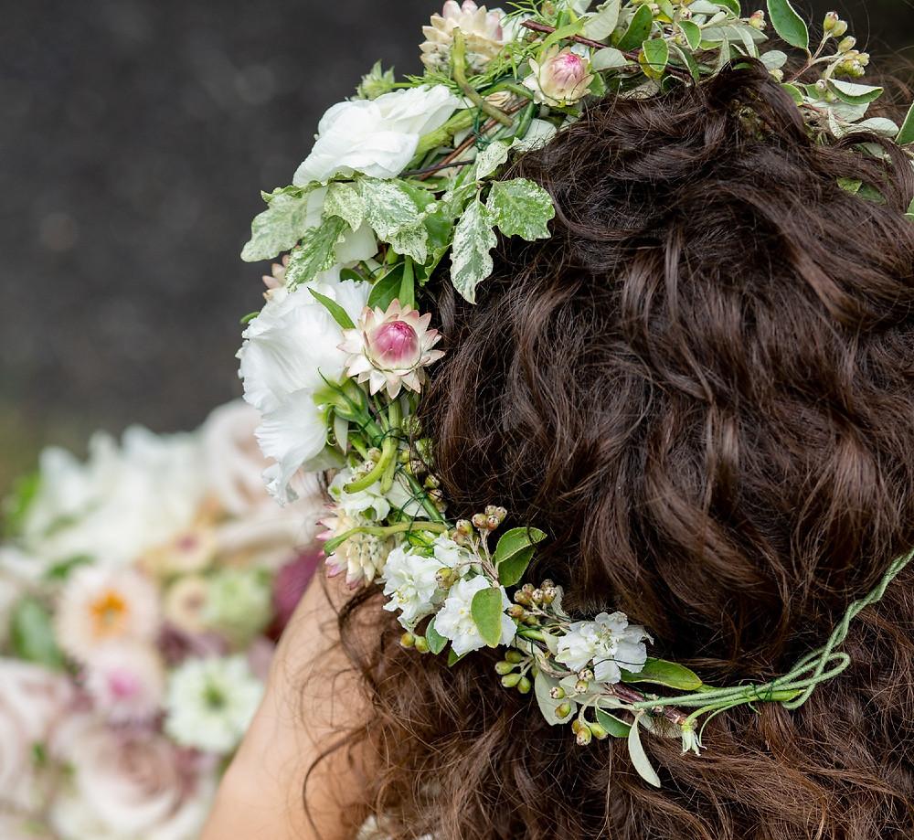 Hochzeit Flower crown