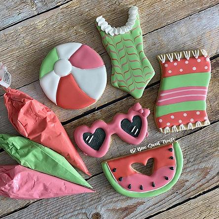 Watermelon Cookie Class