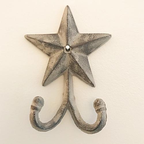 Cast Iron Star Wall Hooks