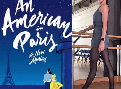 An American in Paris goes to Paris!