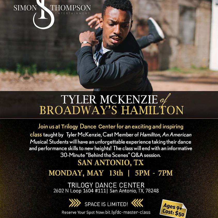 HAMILTON Master Class Series w/ Tyler McKenzie TRILOGY DANCE CENTER