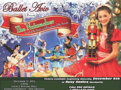 "BALLET AVIV presents ""THE NUTCRACKER: LAND of the SNOW and KINGDOM of the SWEETS"" 