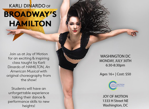 HAMIILTON Master Class Series with Karli Dinardo